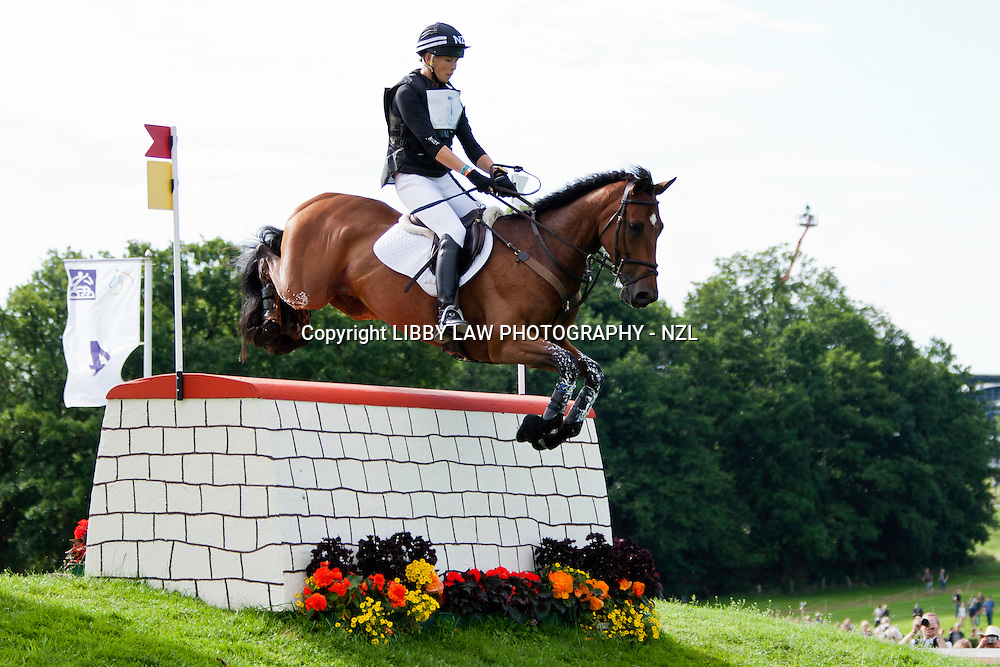 NZL-Lucy Jackson (KILCOLTRIM AMBASSADOR) 2012 GER-CHIO Aachen Weltfest des Pferdesports (Saturday) - DHL Preis CICO*** Eventing XC: FINAL-22ND