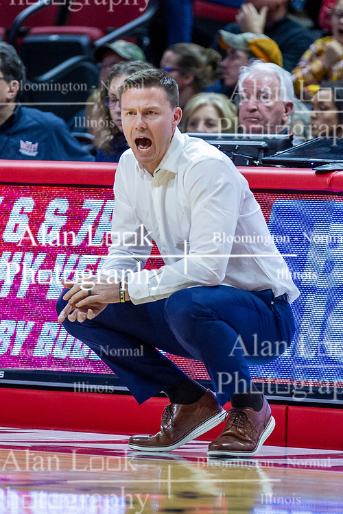 NORMAL, IL - February 15:  Matt Lottich during a college basketball game between the ISU Redbirds and the Valparaiso Crusaders on February 15 2020 at Redbird Arena in Normal, IL. (Photo by Alan Look)