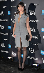 Daisy Lowe attends The Alexander McQueen: Savage Beauty VIP private view at The Victoria and Albert Museum, Cromwell Road, London on Saturday 14 March 2015
