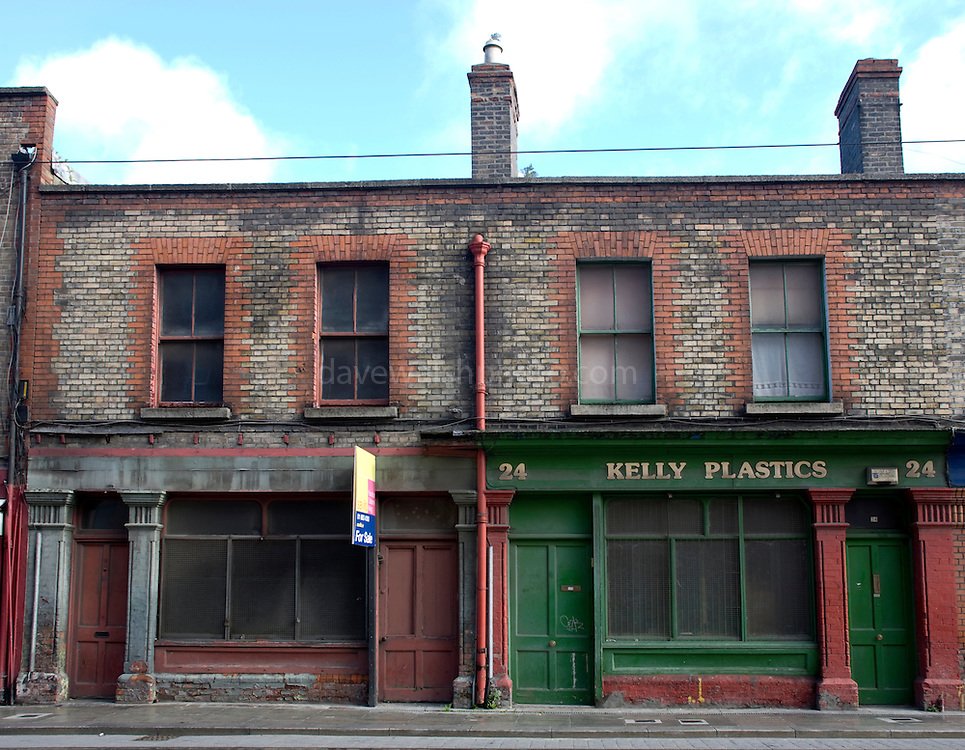 Benburb, St., Dublin, street, ireland, irish, city, centre, central, urban, decay, renewal, shops, closed, down,