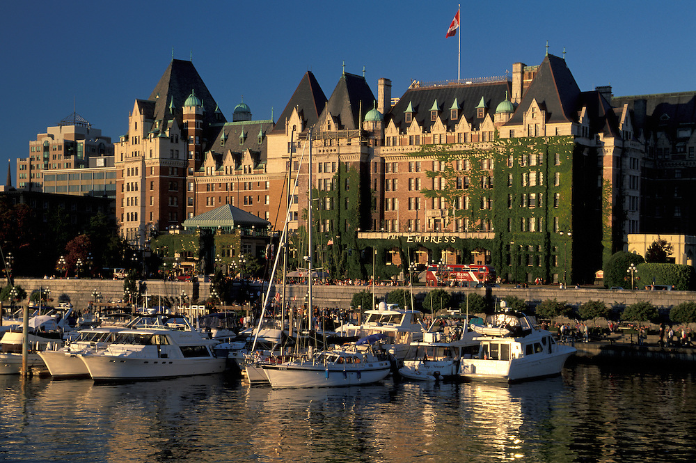 The Empress Hotel,Victoria, Vancouver Island, British Columbia, Canada