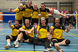 20-04-2019 NED: Dirk Kuyt Foundation Cup, Veenendaal<br /> National Cup sitting volleyball in Veenendaal / vv Apollo Mill