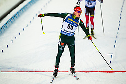 March 9, 2019 - –Stersund, Sweden - 190309 Benedikt Doll of Germany crosses the finish line in the Men's 10 KM sprint during the IBU World Championships Biathlon on March 9, 2019 in Östersund..Photo: Johan Axelsson / BILDBYRÃ…N / Cop 245 (Credit Image: © Johan Axelsson/Bildbyran via ZUMA Press)