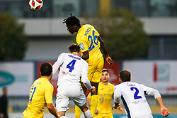 Shamar Amaro Nicholson of NK Domzale and Rok Grudina of ND Gorica during football match between NK Domzale and ND Gorica in 14th Round of Prva liga Telekom Slovenije 2018/19, on November 7, 2018 in Sportni Park, Domzale, Slovenia. Photo by Matic Klansek Velej / Sportida