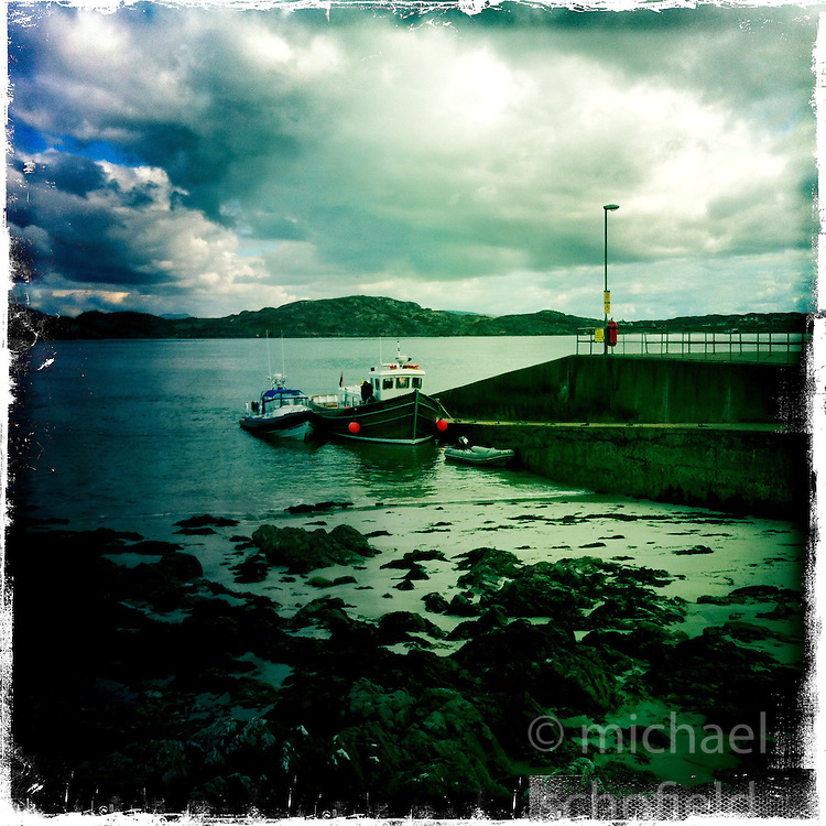 Iona..Hipstamatic images taken on an Apple iPhone..©Michael Schofield.