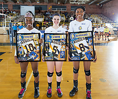 2016 A&T Volleyball vs NC Central (Senior Night)
