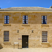 Building exterior at Richmond Gaol, Tasmania