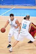 DESCRIZIONE : Skopje Nazionale Italia Uomini Torneo Internazionale di Skopje Italia Macedonia Italy FYROM<br /> GIOCATORE : Alessandro Gentile Marco Cusin<br /> CATEGORIA : Palleggio Blocco<br /> SQUADRA : Italia Italy<br /> EVENTO : Trofeo Internazionale di Skopje<br /> GARA : Italia Macedonia Italy FYROM<br /> DATA : 26/07/2014<br /> SPORT : Pallacanestro<br /> AUTORE : Agenzia Ciamillo-Castoria/Max.Ceretti<br /> Galleria : FIP Nazionali 2014<br /> Fotonotizia : Skopje Nazionale Italia Uomini Torneo Internazionale di Skopje Italia Macedonia Italy FYROM