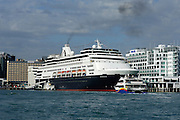 Cruise ship Statendam along side Princess wharf in Auckland. 18/2/2006