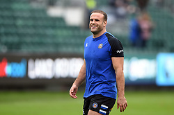 Jamie Roberts of Bath Rugby looks on during the pre-match warm-up - Mandatory byline: Patrick Khachfe/JMP - 07966 386802 - 09/11/2019 - RUGBY UNION - The Recreation Ground - Bath, England - Bath Rugby v Northampton Saints - Gallagher Premiership