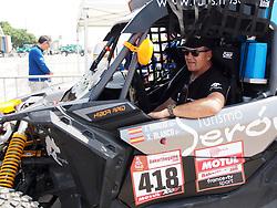 January 5, 2019 - Lima, Lima, Peru - Can Am 418, Jose Antonio Hinojo and Xavier Blanco from Spain, FN Speed team, passing the technical scrutineering. The Dakar rally runs this year 100% in Peru. (Credit Image: © Carlos Garcia Granthon/ZUMA Wire)