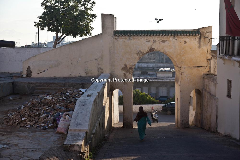 Morroco, Tangier, Old medina, port gate