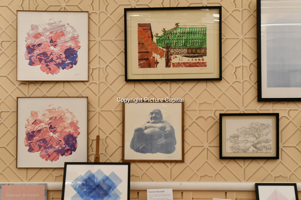 Damien Borowik is a Technology and Art - Digital Art and Craft exhibition at Winter blossom fair: A celebration of east asian art, craft and design at China Exchange on 10 November 2018, London, UK.