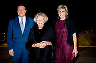 THE HAGUE - Princess Beatrix, Prince Constantijn and Princess Laurentien der Nederlanden will attend the opening of the sixteenth edition of the Holland Dance Festival on Thursday 25 January 2018 in the Zuiderstrandtheater in The Hague. ROBIN UTRECHT