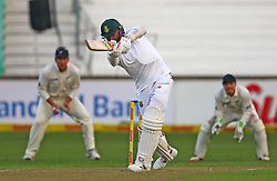 Dale Steyn during day one of the first test match between South Africa and New Zealand held at the Kingsmead stadium in Durban, KwaZulu Natal, South Africa on the 19th August 2016<br /> <br /> Photo by:   Anesh Debiky / Real Time Images