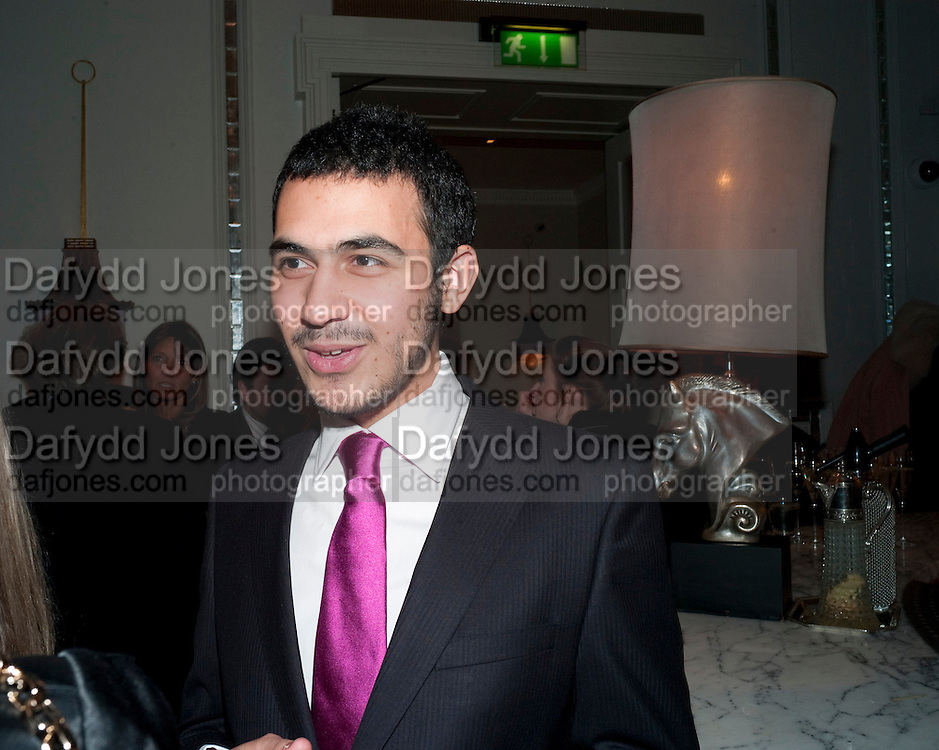 ZULFIKAR ALI BHUTTO; , Henry Porter hosts a launch for Songs of Blood and Sword by Fatima Bhutto. The Artesian at the Langham London. Portland Place. 15 April 2010. *** Local Caption *** -DO NOT ARCHIVE-© Copyright Photograph by Dafydd Jones. 248 Clapham Rd. London SW9 0PZ. Tel 0207 820 0771. www.dafjones.com.<br /> ZULFIKAR ALI BHUTTO; , Henry Porter hosts a launch for Songs of Blood and Sword by Fatima Bhutto. The Artesian at the Langham London. Portland Place. 15 April 2010.