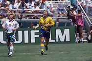 FIFA World Cup - USA 1994<br /> 16.7.1994, Rose Bowl Stadium, Pasadena, Los Angeles, California.<br /> Match for third place / Bronze final: Sweden v Bulgaria