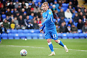 Peterborough Utd midfielder Louis Reed (11) during the EFL Sky Bet League 1 match between Peterborough United and Coventry City at London Road, Peterborough, England on 16 March 2019.