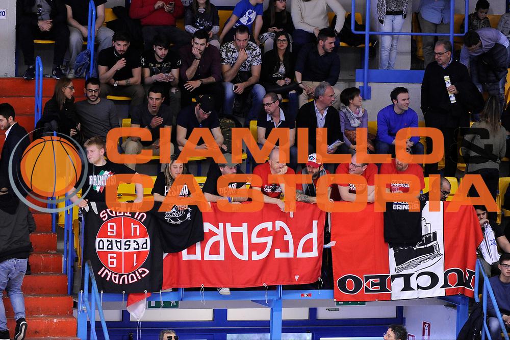 Consultinvest Pesaro, Tifosi<br /> Enel Brindisi - Consultinvest Pesaro<br /> Lega Basket Serie A 2016/2017<br /> Brindisi, 09/04//2017<br /> Foto Ciamillo-Castoria
