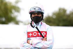 Jockey S M Levey - Mandatory by-line: Robbie Stephenson/JMP - 06/08/2020 - HORSE RACING - Bath Racecourse - Bath, England - Bath Races