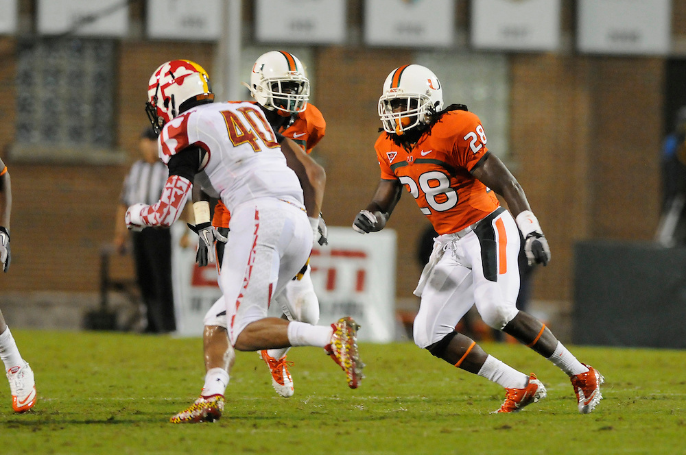 2011 Miami Hurricanes Football @ Maryland<br /> <br /> Andrew Swasey