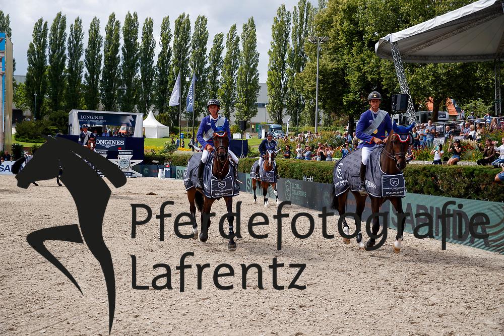 Allen, Bertram (IRL)<br /> Zorzi, Alberto (ITA)<br /> , <br /> Berlin - Global Jumping Berlin 2017<br /> © www.sportfotos-lafrentz.de/Stefan Lafrentz