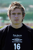 Fotball<br /> Portretter Adeccoligaen 2006<br /> 26.03.2006<br /> Foto: Morten Olsen, Digitalsport<br /> <br /> William Block<br /> Manglerud Star Toppfotball