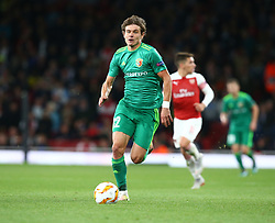 September 20, 2018 - London, England, United Kingdom - Pavlo Rebenok of FC Vorskla Poltava.during UAFA Europa League Group E between Arsenal and FC Vorskla Poltava at Emirates stadium , London, England on 20 Sept 2018. (Credit Image: © Action Foto Sport/NurPhoto/ZUMA Press)