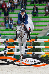 Radovan Sillo, (SVK), Quinto - Team & Individual Competition Jumping Speed - Alltech FEI World Equestrian Games™ 2014 - Normandy, France.<br /> © Hippo Foto Team - Leanjo De Koster<br /> 02-09-14