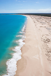Aerial view of Cable Beach, north of Broome.