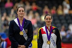 Finale Frauen Siegerehrung/Medaillenvergabe