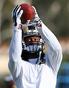 Los Angeles Rams running back Todd Gurley (30) catches a pass during the Los Angeles Rams 2016 NFL training camp football practice held on Tuesday, Aug. 2, 2016 in Irvine, Calif. (©Paul Anthony Spinelli)
