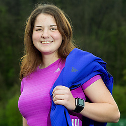 Karin Rus, coach of Adidas Summer running school, on April 17, 2015 in Ljubljana, Slovenia. Photo by Vid Ponikvar / Sportida