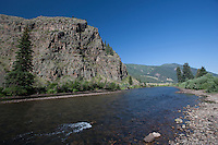 Rio Grande at Wagon Wheel Gap, Rt 149, Mineral County, Colorado.