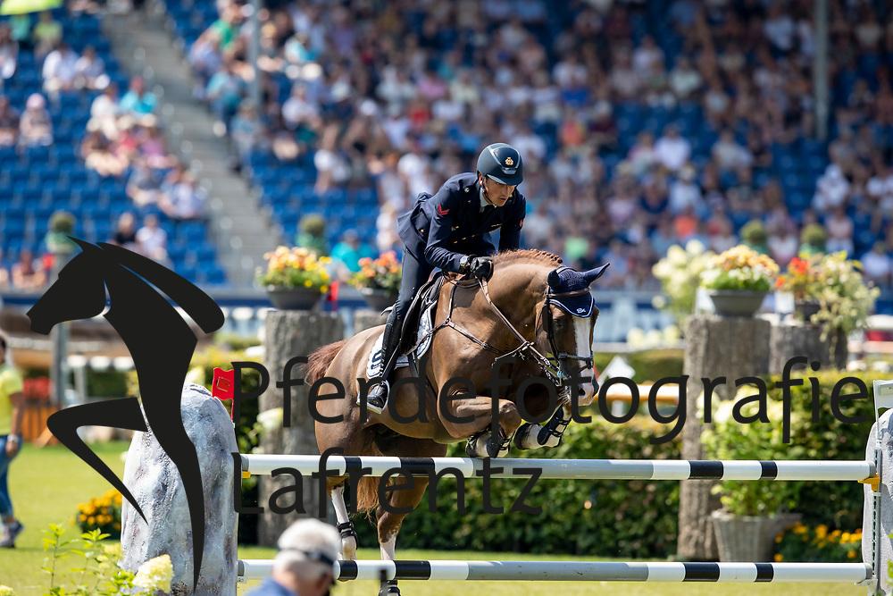 DE LUCA Lorenzo (ITA), Halifax van het Kluizebo<br /> Aachen - CHIO 2018<br /> Preis von Nordrhein-Westfalen<br /> 20. Juli 2018<br /> © www.sportfotos-lafrentz.de/Stefan Lafrentz