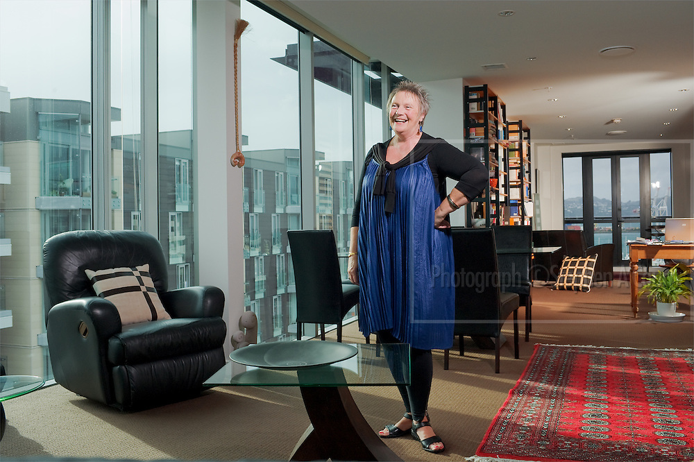 Annie Ruth is an actor, director, teacher and former Director of Toi Whakaari: NZ Drama School. In 2011 Annie was named as a Member of the New Zealand Order of Merit (MNZM) for services to Drama. She is photographed at home in her apartment on Wellington's waterfront. Annie Ruth graduated from Toi Whakaari with a Diploma in Professional Drama (Acting) in 1972.
