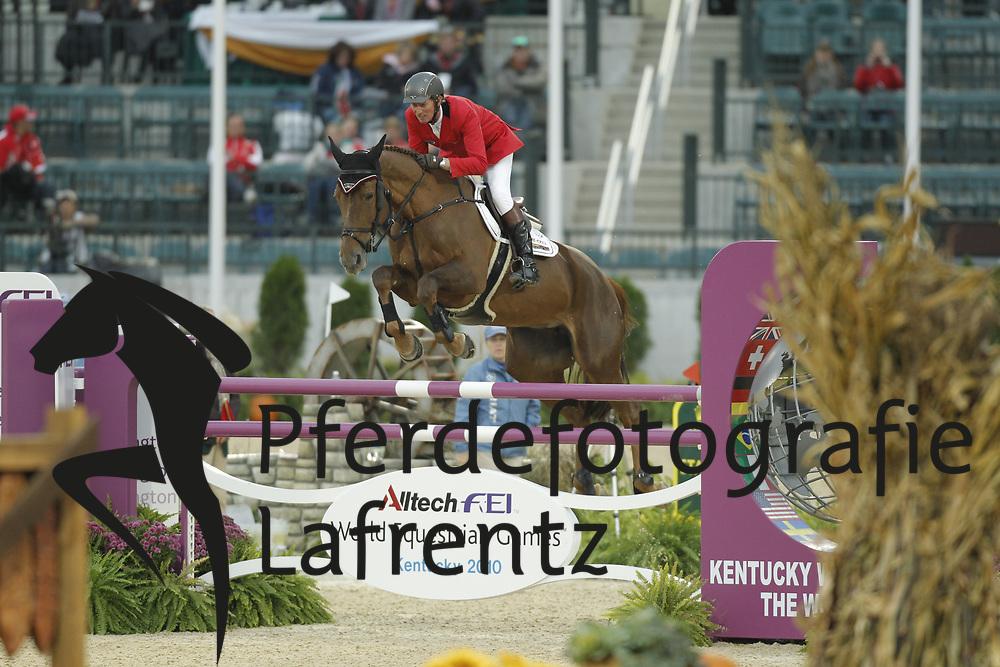 LANSINK Jos, Cavalor Valentina van`t Heike<br /> Kentucky - Alltech FEI WEG 2010<br /> /Stefan Lafrentz