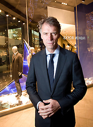 © London News Pictures. File Picture. Claus-Dietrich Lahrs, Chairman of the Managing Board and Chief Executive Officer (CEO) of Hugo Boss pictured at the Hugo Boss store in Westfield Stratford. Hugo Boss, owned by Britain's <br />