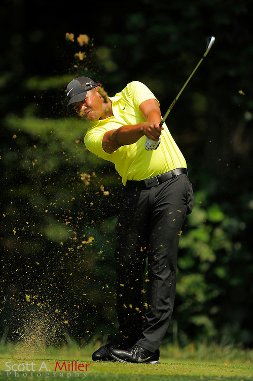 Jhonattan Vegas during the first round of the AT&T National at Congressional Country Club on June 28, 2012 in Bethesda, Maryland. ..©2012 Scott A. Miller