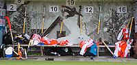 AERDENHOUT -  ILLUSTRATIEF - IllustrationDe Nederlandse dug-out, zaterdag tijdens de Volvo 4-Nations  op de velden van Rood-Wit, tussen Nederland Jongens B en Engeland Jongens B .  FOTO KOEN SUYK.