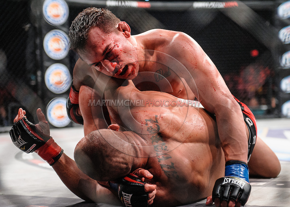 LONG BEACH, CALIFORNIA, SATURDAY, NOVEMBER2, 2013:  during Bellator CVI inside Long Beach Arena in Long Beach, California