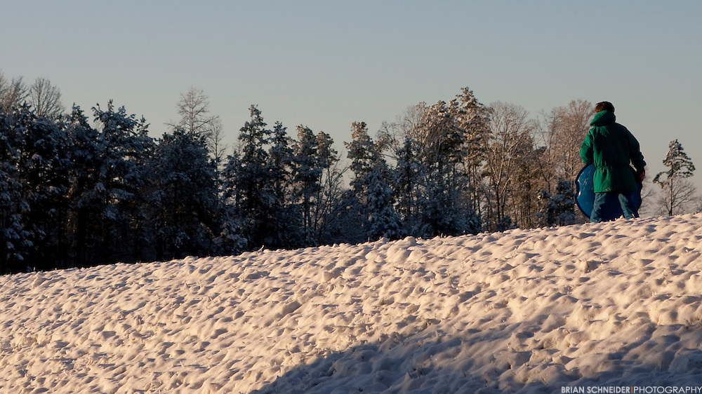 Feb 13, 2010; Clemson, SC, USA; Snow at Lake Keowee near the campus of Clemson University. Mandatory Credit: Brian Schneider-www.ebrianschneider.com