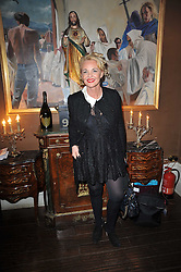 AMANDA ELIASCH at a party to celebrate the publication of her new book - Kelly Hoppen: Ideas, held at Beach Blanket Babylon, 45 Ledbury Road, London W11 on 4th April 2011.