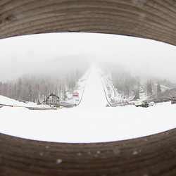 20130313: SLO, Ski jumping - Preparation of Planica flying-hill