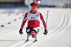 GAJDICIAR Vladimir, SVK at the 2014 IPC Nordic Skiing World Cup Finals - Middle Distance