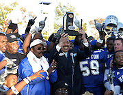 Hampton University wins the 2005 MEAC Football Championship after defeating Florida A&M 34-14 at Armstrong Stadium in Hampton, Virginia.   November 12, 2005  (Photo by Mark W. Sutton)