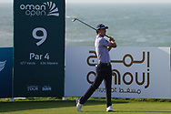 Renato Paratore (ITA) on the 9th during Round 2 of the Oman Open 2020 at the Al Mouj Golf Club, Muscat, Oman . 28/02/2020<br /> Picture: Golffile | Thos Caffrey<br /> <br /> <br /> All photo usage must carry mandatory copyright credit (© Golffile | Thos Caffrey)