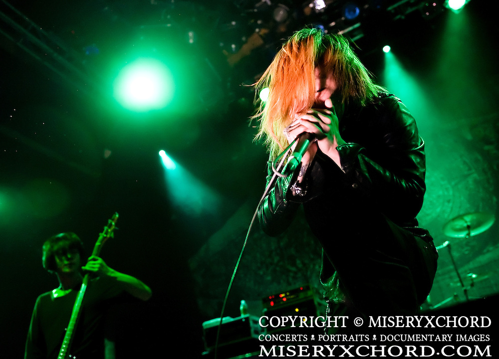 Dir En Grey performs at the House of Blues Sunset Strip in Hollywood California USA on November 22 2009