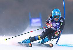 Julia Mancuso of USA skiing in first run of Maribor women giant slalom race of Audi FIS Ski World Cup 2008-09, in Maribor, Slovenia, on January 10, 2009. (Photo by Vid Ponikvar / Sportida)