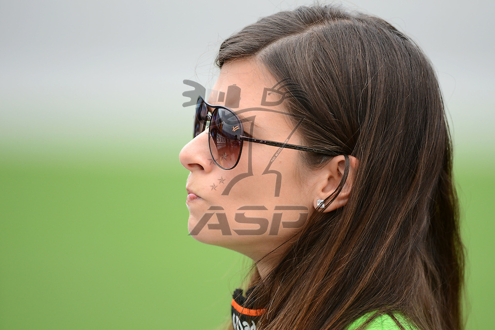 Joliet,Il - JUL 22, 2012: Danica Patrick (7) during qualifying for the STP 300 at Chicagoland Speedway in Joliet, Il.